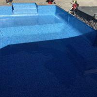installed pool liner