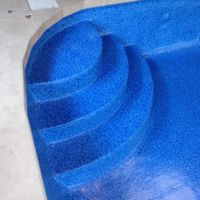 pool liner stairs
